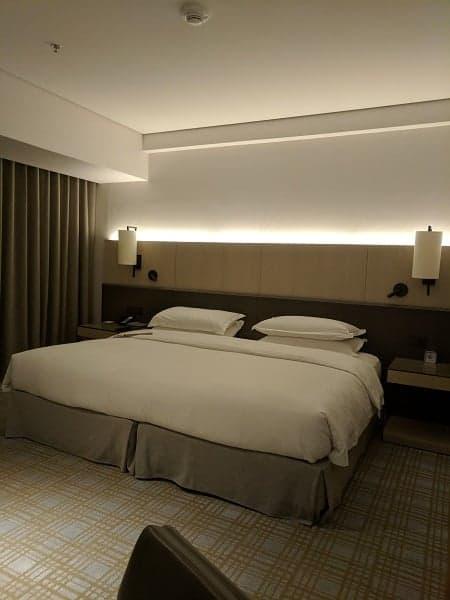 Marriott Taipei suite