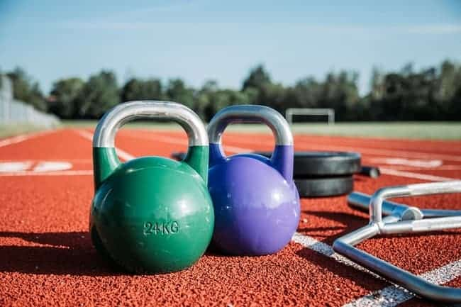 kettlebell and financial independence